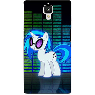 instyler PREMIUM DIGITAL PRINTED 3D BACK COVER FOR ONE PLUS 3 3D1PLUS3DS-10164