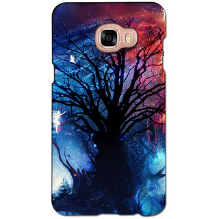 instyler PREMIUM DIGITAL PRINTED 3D BACK COVER FOR SAMSUNG GALAXY C5 3DSGC5DS-10820