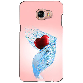 instyler PREMIUM DIGITAL PRINTED 3D BACK COVER FOR SAMSUNG GALAXY C7 3DSGC7DS-10700