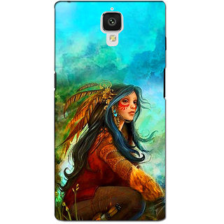 instyler PREMIUM DIGITAL PRINTED 3D BACK COVER FOR ONE PLUS 3 3D1PLUS3DS-10964