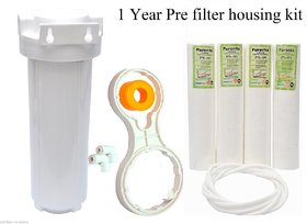 Set OF 1 Pre Filter Housing Kit/Standard 1 YEAR for 10spun filter/RO/UV/water purifier