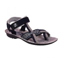 AZTEC Unisex Blue, Grey Synthetic Leather And PU Floater Sandals (Size 7 UK/IND)