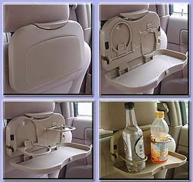 Multipurpose Car Back Seat Dining Tray ( Set 1 )