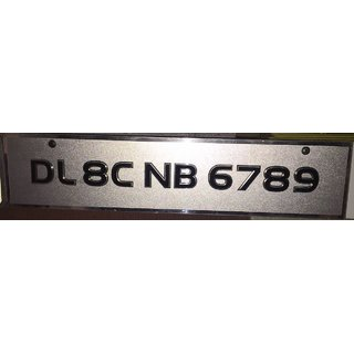 Car Bike Number Plate Govt. Approved