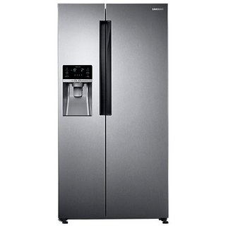 Samsung RS58K6417SL Frost-free Side-by-Side Double-door Refrigerator (654 Ltrs, EZ Clean...