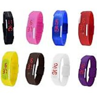 TRUE COLORS LED MULTI COLOR UNISEX COMBO LIMITED STOCK FAST SELLING OUT Digital Watch - For Boys, Girls, Men, Women - 98125551