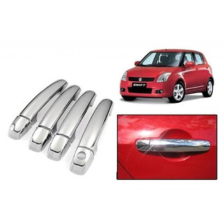 Chrome Door Handle Latch Cover - Maruti Suzuki Swift New