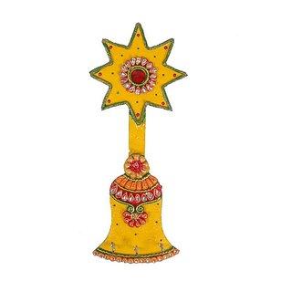 Star Bell Key Holder Wooden