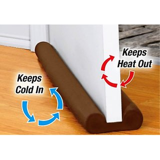 Under Door Draft Guard Cover Stop Light Dust Cool Air Escape Protector