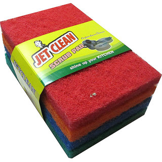 Jet Clean - Heavy Duty - 4 pcs - Multicolor