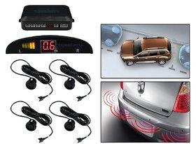 Autosky Black Reverse Car Parking Sensor System For All Cars