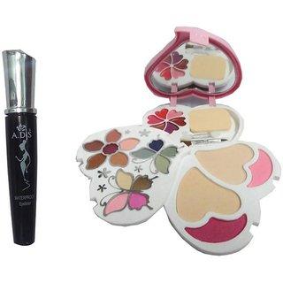 ADS WaterProof Eyeliner, 3956 Makeup Kit  (Set of 2)