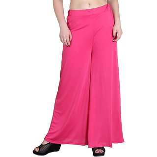 RamE-Regular Fit Women's girls Nevy Blue  Palazzo,Trousers,