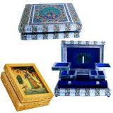 Buy Colorful Meenakari Jewellery Box N Get Gemstone Jewelry Box Free
