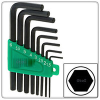 Key Tools Allen Wrench set 1.5 MM to 10MM