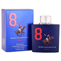 Beverly Hills Polo Club EDT Sport Blue Men 8 100 ML