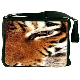 Snoogg Tiger 22 Designer Laptop Messenger Bag