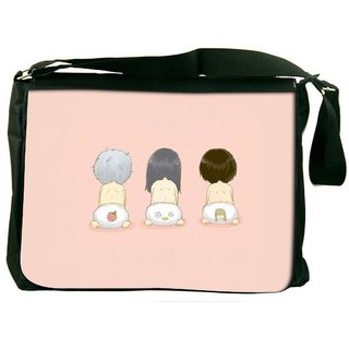 Snoogg Cute Kids Diapers Designer Laptop Messenger Bag
