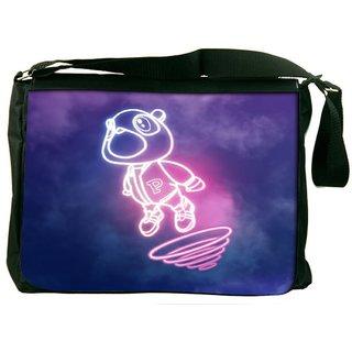 Snoogg Cartoon Cute Fly Designer Laptop Messenger Bag