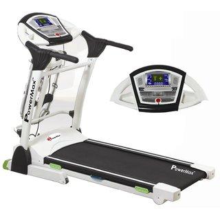 Powermax Fitness Tda-330 Multifunction Motorized Treadmill 3 Years Warranty