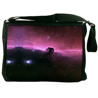 Snoogg Universe Abstract Designer Laptop Messenger Bag