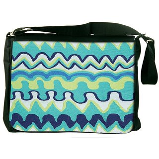 Snoogg Droplets Best Aztec Designer Laptop Messenger Bag