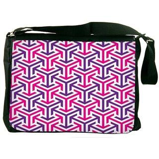 Snoogg Tube Well DesignerLaptop Messenger Bag