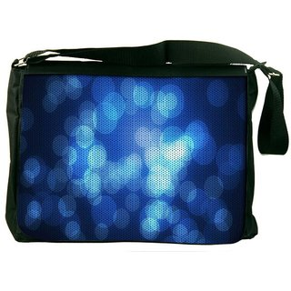 Snoogg Abstract Wallpapers Circle Designer Laptop Messenger Bag