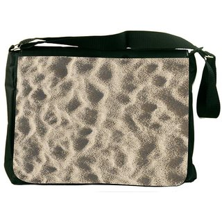 Snoogg Beach Sand DesignerLaptop Messenger Bag