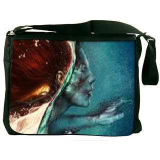 Snoogg Abstract Painting Digitally Printed Laptop Messenger  Bag