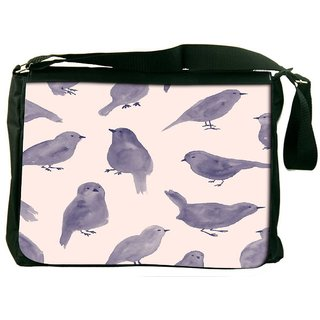 Snoogg Pigeon Paint Designer Laptop Messenger Bag