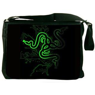 Snoogg Snake Stylin System Designer Laptop Messenger Bag