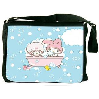 Snoogg Cute Baby Shower Designer Laptop Messenger Bag