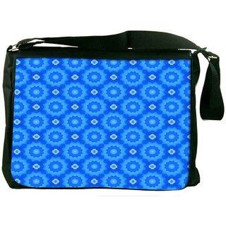 Snoogg Flora Pattern Wall Designer Laptop Messenger Bag