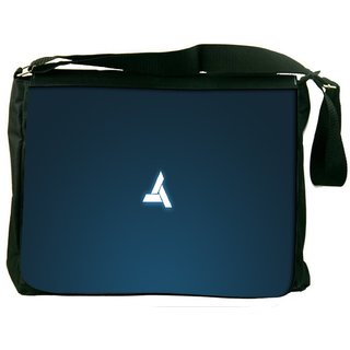 Snoogg Abstergo Logo Game Digitally Printed Laptop Messenger  Bag