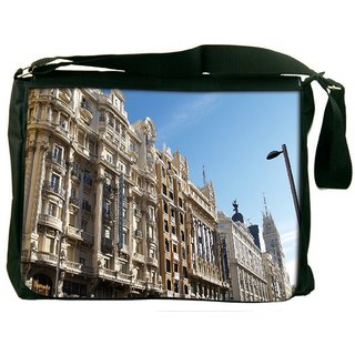Snoogg Hotel Atlantico Digitally Printed Laptop Messenger  Bag