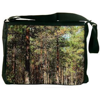 Snoogg Humid Climate Digitally Printed Laptop Messenger  Bag