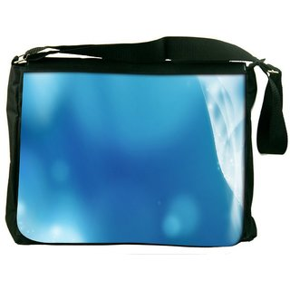 Snoogg Abstract Sparkling Design Digitally Printed Laptop Messenger  Bag