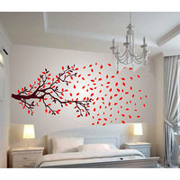 Walltola Autumn Tree Large Wall Sticker (20X28 Inch)