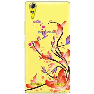 Snooky Printed transparent Silicone Back Case Cover For Lenovo A6000 Plus