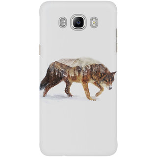 Dreambolic Arctic Wolf Mobile Back Cover