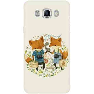 Dreambolic Fox Friends Mobile Back Cover
