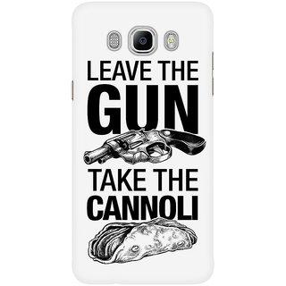 Dreambolic Leave The Gun Take The Cannoli Mobile Back Cover