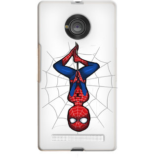 Snooky Printed transparent Silicone Back Case Cover For YU Yuphoria