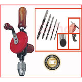 2 In 1 Hand Drill Machine With Drill Bits(5pc)
