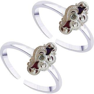 Star Silver Latest Design Toe Ring