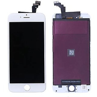 Mobile LCD Display For iPhone 6 White