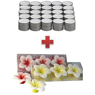 50 pc T-Light + 3 pc Floating candles