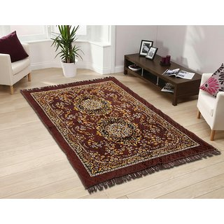 CheeStar Brown Chenille Carpet - 001
