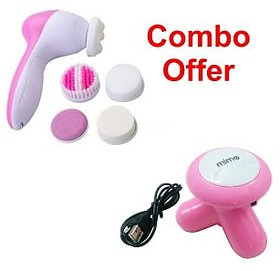 5 in 1 Full Body Hybrid Beauty Massager With Mini Massager by Czar